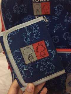 Busquets Blue Wallet