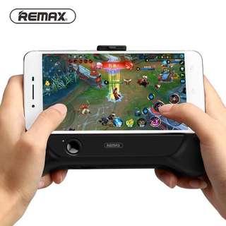 REMAX 手機散熱器 王者榮耀4-6寸手機支架 帶充電功能遊戲手柄 打機煲劇恩物