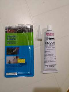 Hi Bond silicone sealant - White