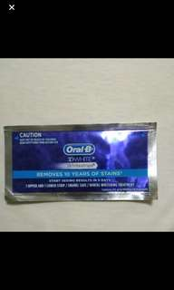 Oral b whitening strips