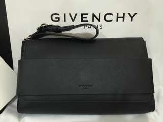 Givenchy calf leather clutch bag