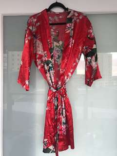 100% silk kimono