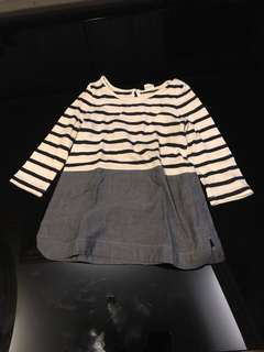 Baby's Dress Stripes