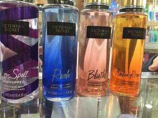 Pre- Order Victoria Secret Perfumes and Bath And Body Works