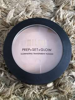 Illuminating Transparent Powder