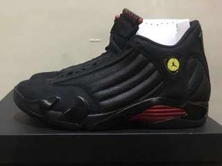 "[REPRICED!!!] Jordan 14 ""Last Shot"" SIZE 10US BRAND NEW"