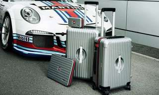 "RIMOWA X PORSCHE Ultralight Edition, M, MARTINI RACING 罕有20"" HKD6000🤩"