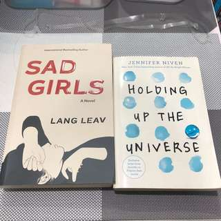 SAD GIRL BY LANG LEAV & THE UNIVERSE OF US