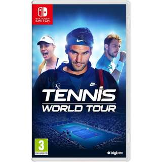 [NEW NOT USED] SWITCH Tennis World Tour Nintendo Maximum Sports Games