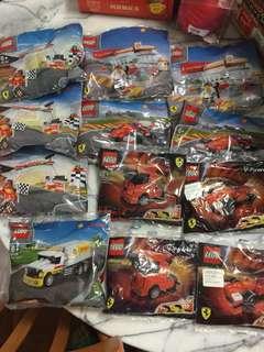 Shell Ferrari Lego 12包