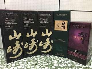 Suntory Whisky 三得利 威士忌