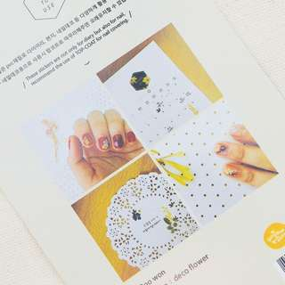 Suatelier Flower Diary Deco Stickers
