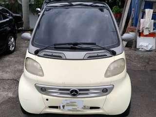 2000  年Benz smart  600cc  售11.5