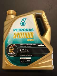 Petronas Syntium 3000 5W-40 Fully Synthetic Engine Oil