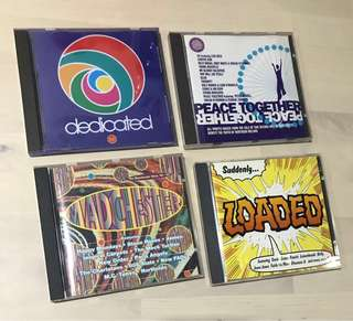 Assorted Indie Compilation CD