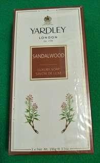 Yardley Sandalwood Luxury Soap