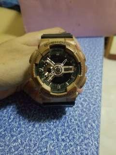 Casio G Shock Watch for Men Bronze/Black