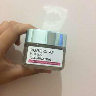 L'Oreal Pure Clay Mask Illuminating
