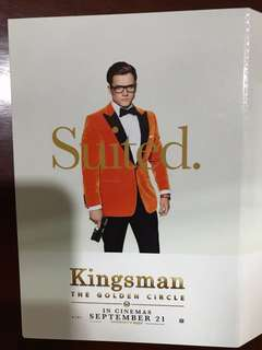 Limited edition Kingsman Movie Post Cards (full set)
