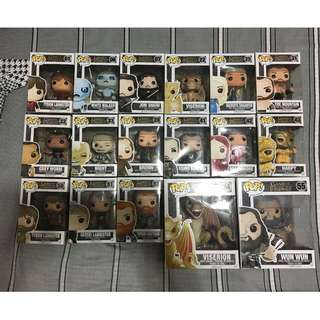 Game of Thrones Funko Pop