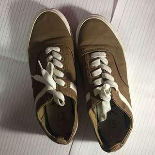 korean brown shoes size 37
