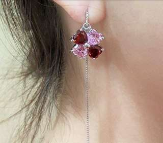 Adjustable Dangling Lucky Charm Earrings (from Singapore)