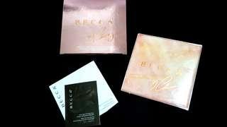 🚚 Becca x Chrissy Teigen Glow Face Pallette