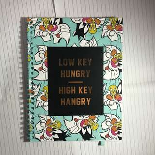 typo looney tunes notebook A5 spinout