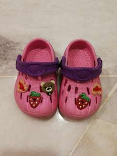 Inspired crocs kids sandals