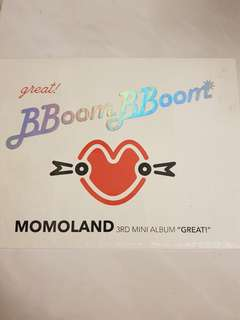 Momoland 3rd Mini Album GREAT!