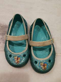 Frozen crocs kids sandals