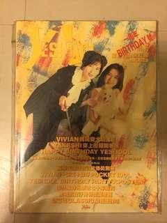 Yes Idol 第36期 - 1週年慶祝號 + 隨書附送 海報、張學友演唱會圖文傳真別册、Pocket Idol 周慧敏+雯雯