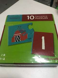 Educational numbers puzzle