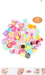 [PO] Candy Plastic Slime Charms