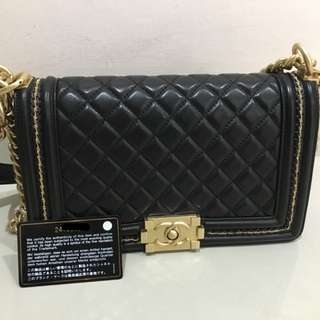 Authentic Chanel Leboy medium