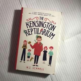 the kensington reptilarium novel