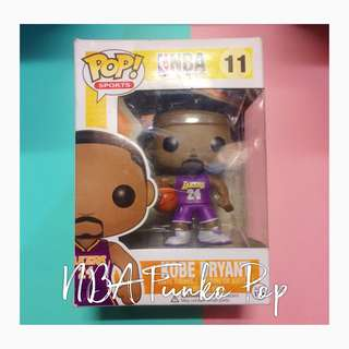 NBA Kobe Bryant Funko Pop