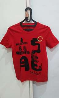 GIORDANO TOP RED