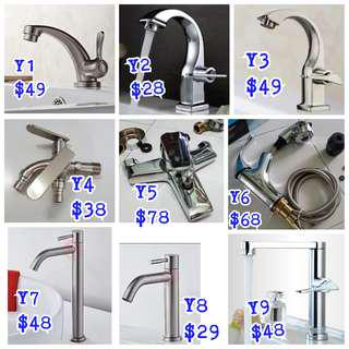 Toilet Kitchen spring pull retractable faucet water Tap, replace install plumber work