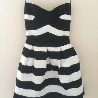 BNWOT River Island Striped Dress