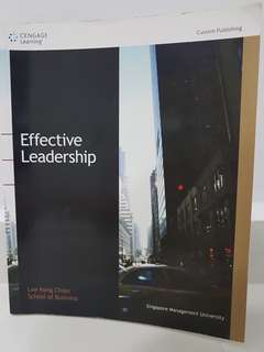 SMU Effective Leadership Textbook