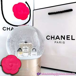 Chanel No 5 N°5 Perfume 2015 Large Snow Globe Crystal Ball 水晶球 VIP限定品 Limited Edition
