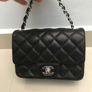 100% Authentic Chanel mini square
