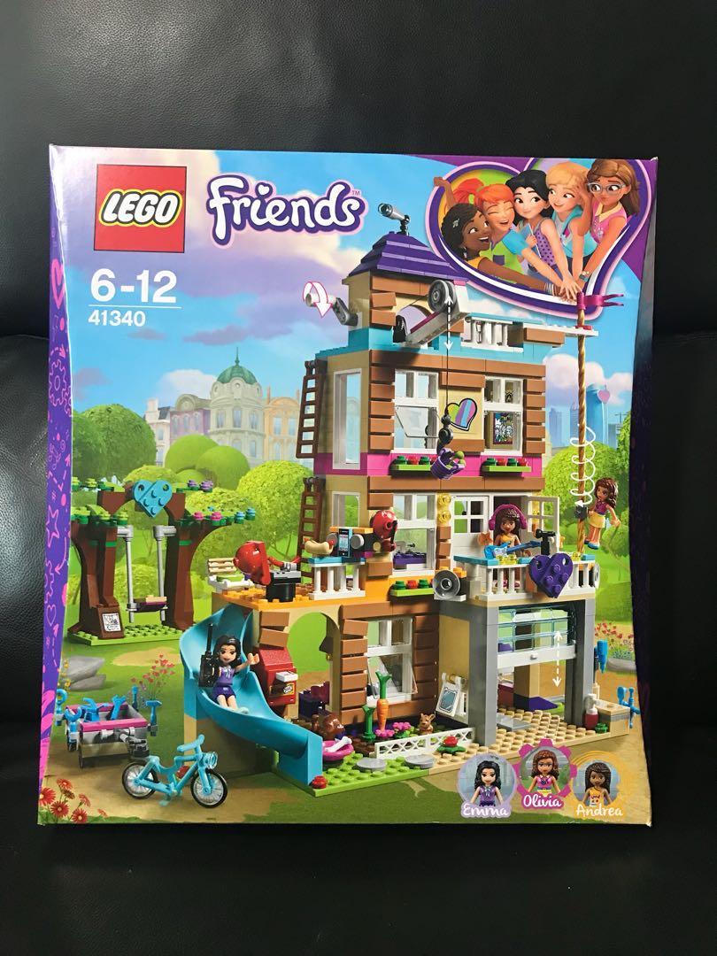 2018 Lego Friends Friendship House 41340 Toys Games Bricks