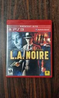 PS3 - LA NOIR
