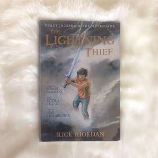 Rick Riordan's The Lightning Thief Graphic Novel