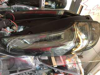 Myvi 2015' LED Light Bar Tail Lamp (smoke)1set