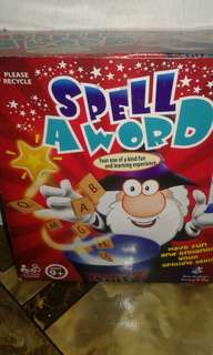 Spell A Word Educational Toy Game Family Game