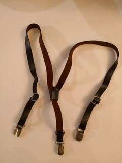 PRELOVED Retro Old School Suspenders or Braces - in excellent condition