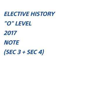 ($6) E HIST NOTE SOFTCOPY